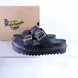 NEW Dr. Martens Myles II Slide Sandals 25559001 Black/Ambassador